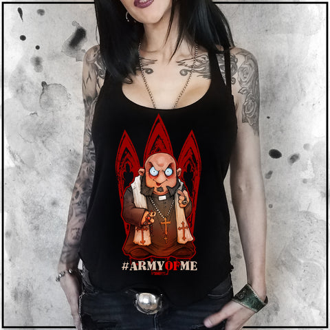 Ladies | Father Evil - Army of Me | Triblend Racerback Tank