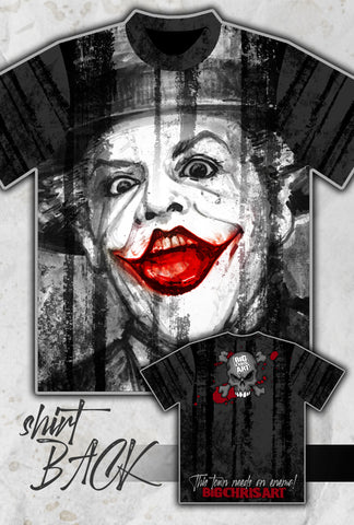 The Joker - Jack Nicolson's - Full Print T-Shirt