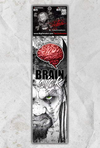 Twisted Insane Brain Sick Socks
