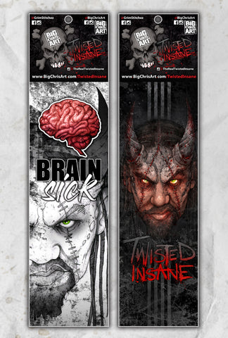 Twisted Insane 2-Pack Socks
