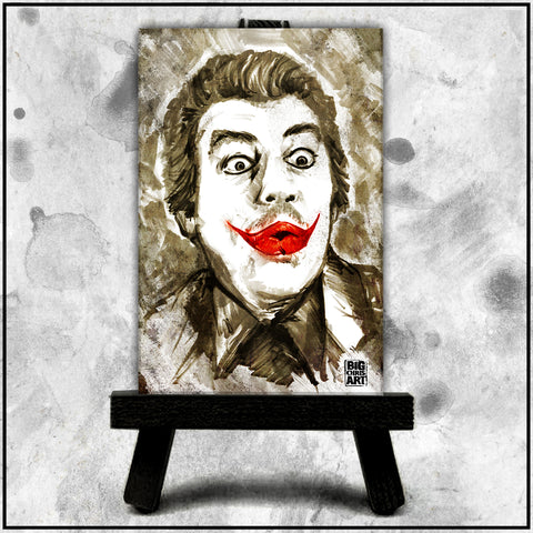Cesar Romero's Joker Canvas