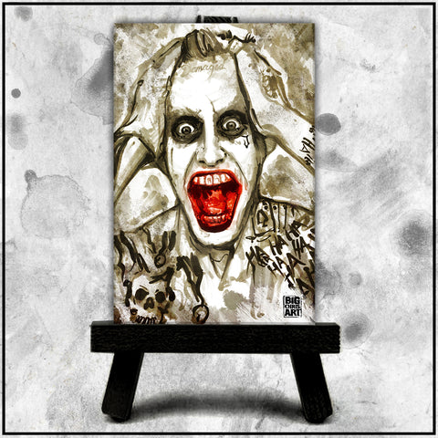 Jared Leto's Joker Canvas