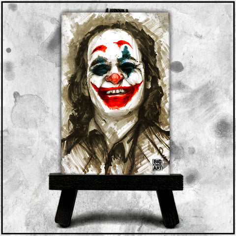 Joaquin Phoenix's Joker Canvas