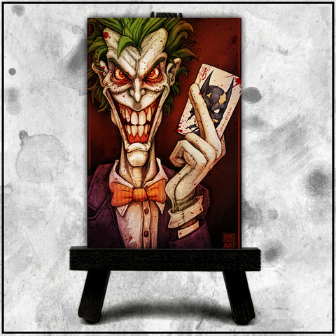 Joker Revisited Canvas