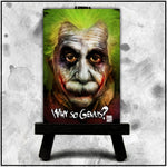 Albert Einstein - Why so Genius? - Canvas