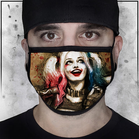Harley Quinn Face Mask