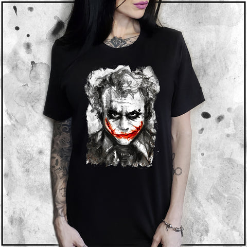 Ladies | Joker - Heath Ledger | Oversized Tee