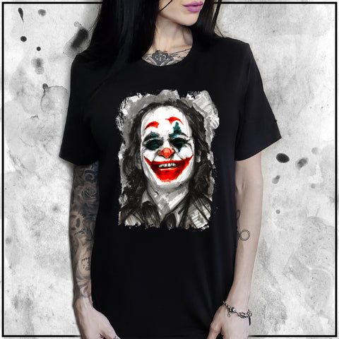 Ladies | Joker - Joaquin Phoenix | Oversized Tee
