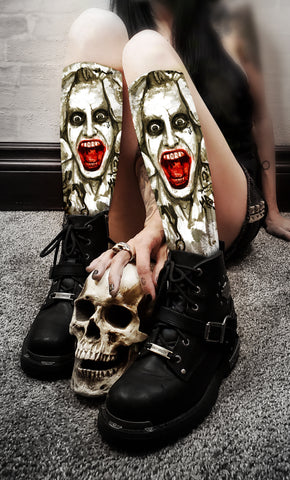 Jared Leto's Joker Socks