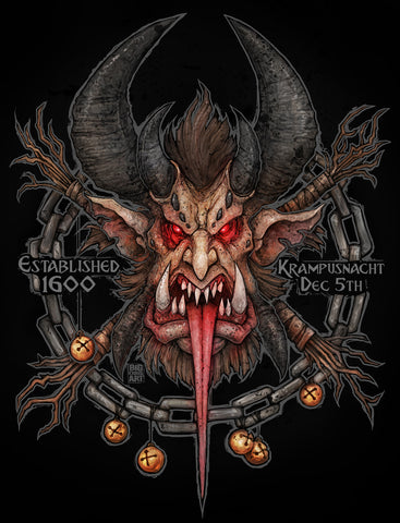Krampus 11x17 Prints (Color)