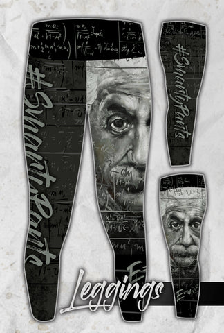 Albert Einstein Full Print Leggings