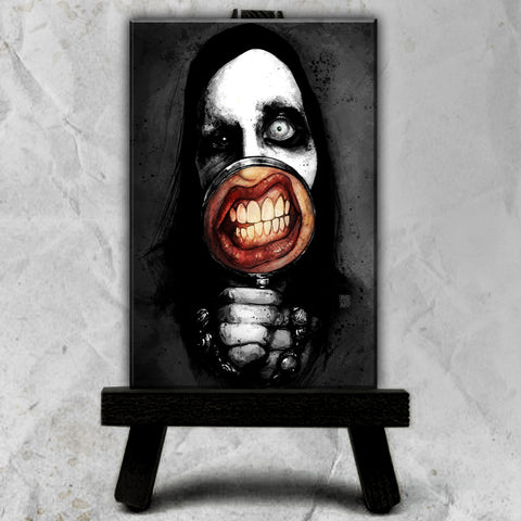Marilyn Manson Canvas