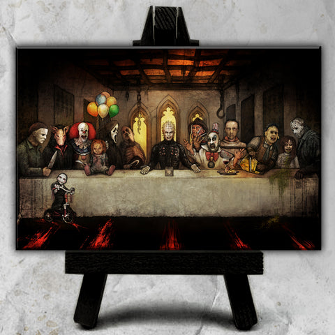 Slash Supper Canvas