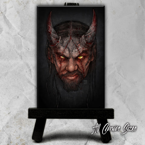 Twisted Insane Portrait Canvases