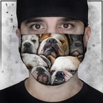 Animals | Bulldog 1 | Face Mask