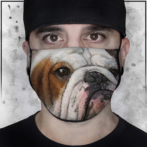 Animals | Bulldog 2 | Face Mask