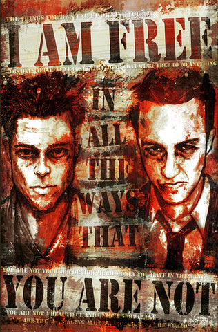 Fight Club 11x17 Print