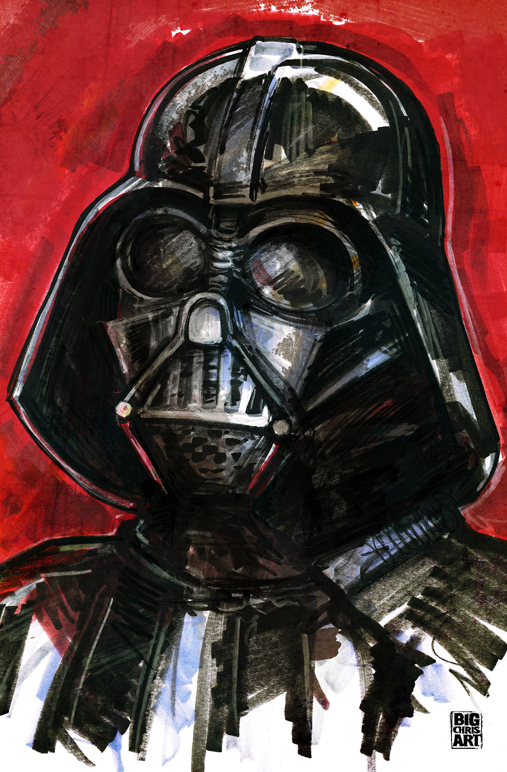 Star Wars - Darth Vader - 11x17 Print