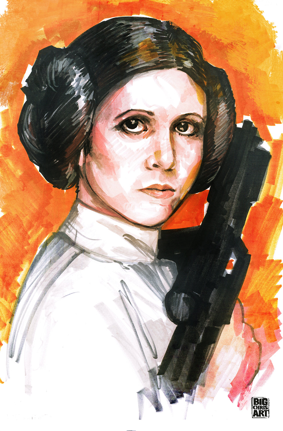 Star Wars - Princess Leia - 11x17 Print