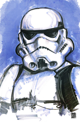 Star Wars - Storm Trooper - 11x17 Print