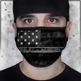 First Responders - Corrections American Flag Face Mask