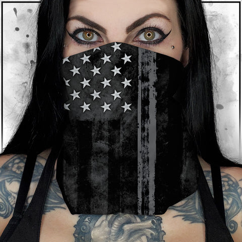 First Responders - Corrections American Flag Neck Gaiter