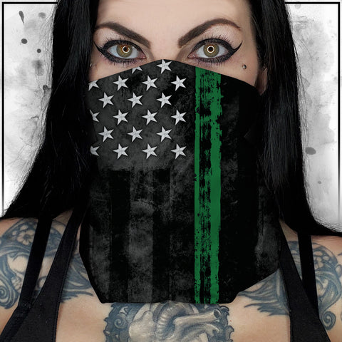 First Responders - Military American Flag Neck Gaiter