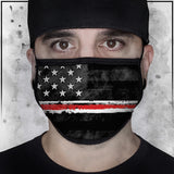 First Responders - Nurse American Flag Face Mask