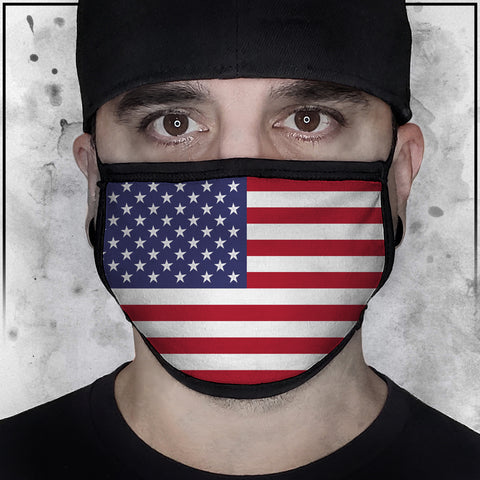Patriot - American Flag Face Mask