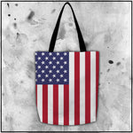 Patriot - American Flag Tote Bag