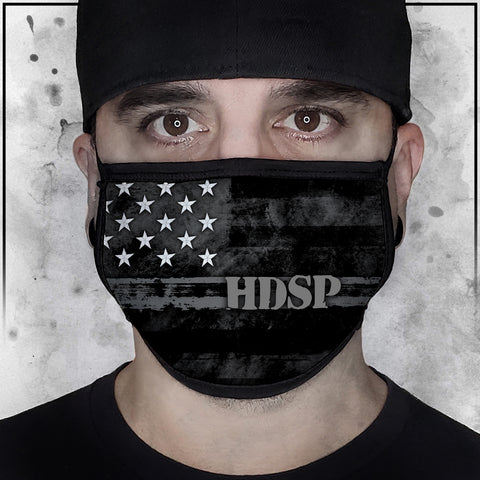 First Responder - Heroes - High Desert State Prison Corrections American Flag Fabric Face Cradle