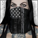 First Responder - Heroes - High Desert State Prison Corrections American Flag Neck Gaiter