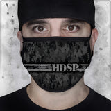 First Responder - Heroes - High Desert State Prison Corrections Camo Fabric Face Cradle