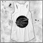 Ladies | Apothic Ink | Poe - Nevermore Raven | Triblend Racerback Tank