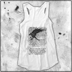 Ladies | Apothic Ink | Poe - The Raven | Triblend Racerback Tank