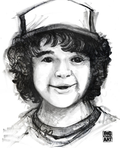 Stranger Things - Dustin 8x10 Print