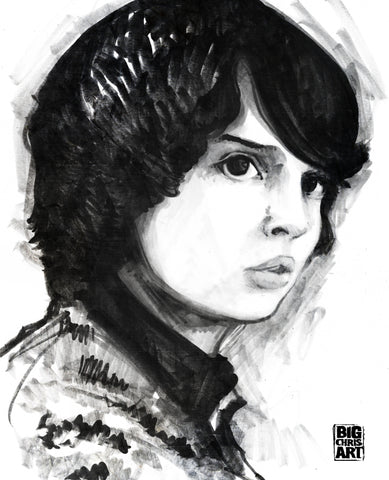 Stranger Things - Mike 8x10 Print