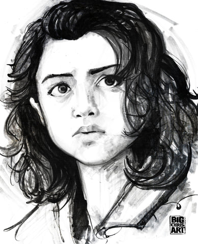 Stranger Things - Nancy 8x10 Print