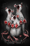 Sinister Fables | Three Blind Mice | 11x17 Print
