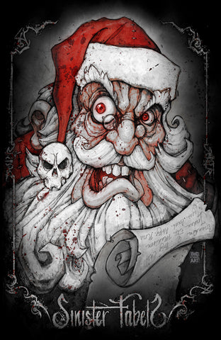 Creepy Santa 11x17 Prints