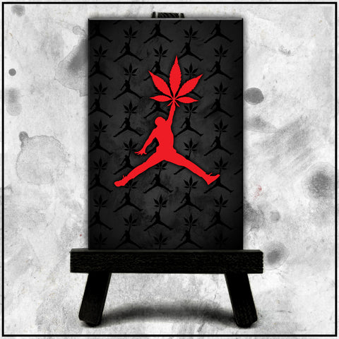 Jordan Stoner - Logo Red Canvas