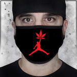 Stoner Jordan - Logo Black Face Mask