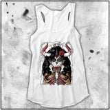 Ladies | Terry Huddleston - Bone Queen | Triblend Racerback Tank