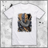 Ladies | Terry Huddleston - Death Stroke | Oversized Tee