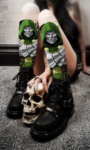 Terry Huddleston - Dr. Doom Socks