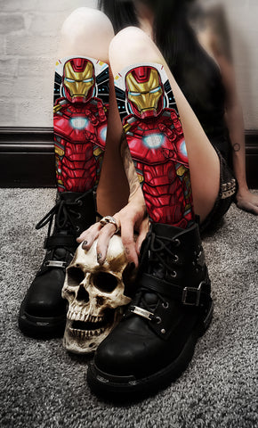 Terry Huddleston - Iron Man Socks