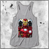 Ladies | Terry Huddleston - Ironman | Triblend Racerback Tank