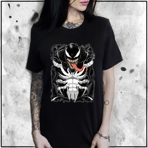 Ladies | Terry Huddleston - Venom | Oversized Tee