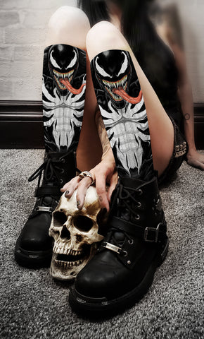 Terry Huddleston - Venom Socks