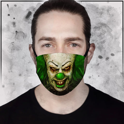 Toke the Raven - Pennyhighs Face Mask
